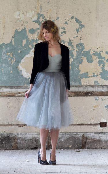 I love tulle skirts