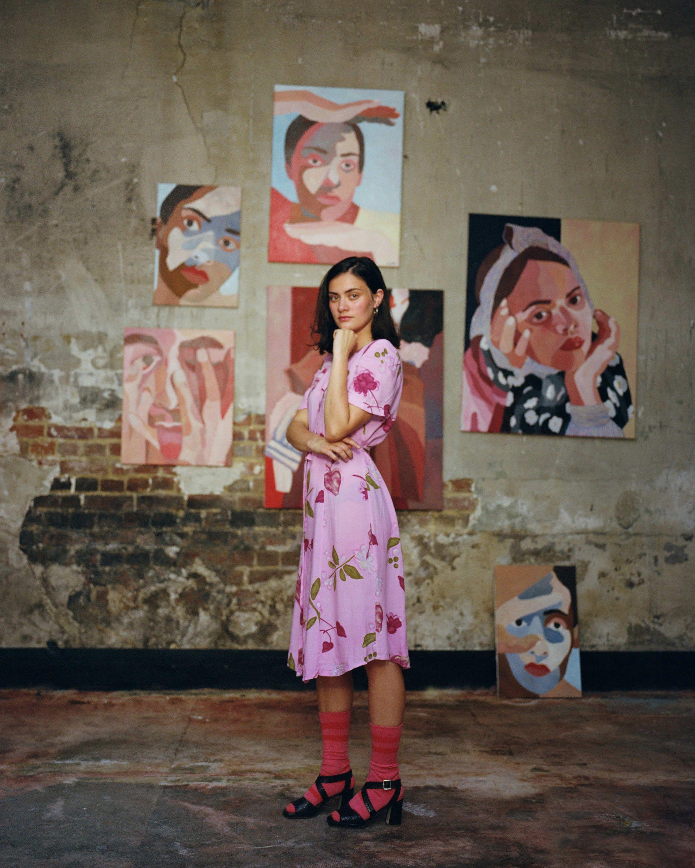 Instagram Famous Painter Explores Visions Of Femininity Girl Artist Artist Style Art