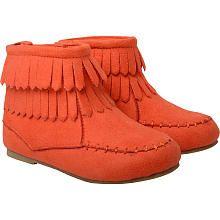 Kardashian Kids Girls Coral Fringe Boot Babies R Us Kardashian Kids Baby Fringe Boots Boots