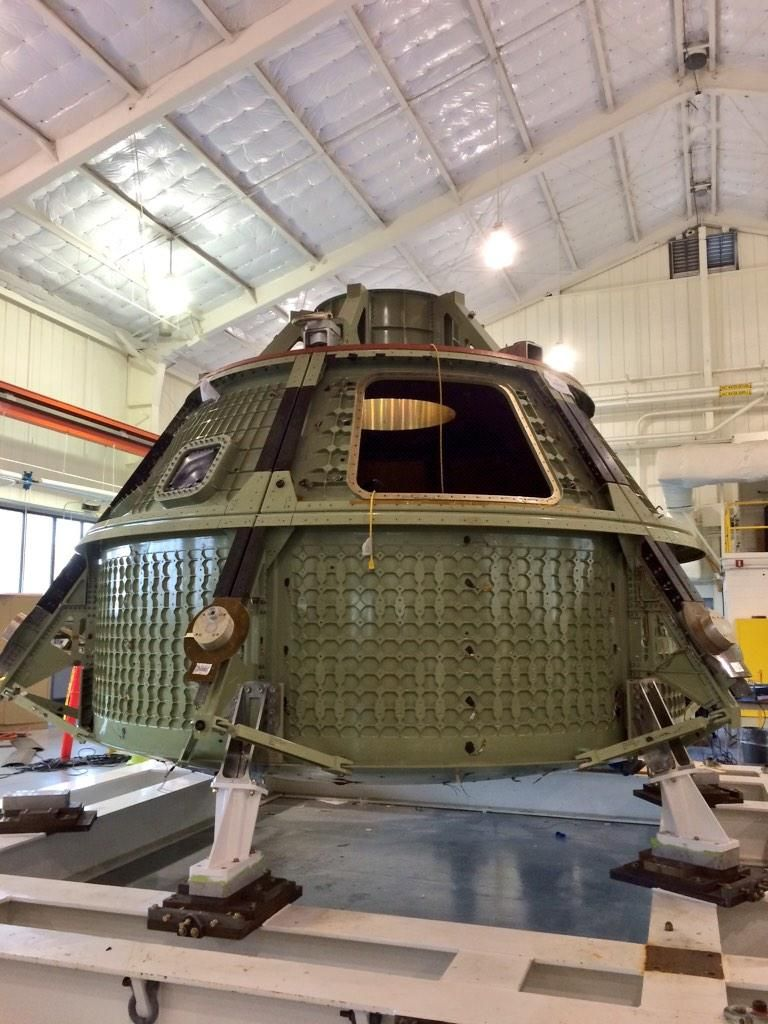 @zmcki001 #Orion model. #NASASocial @NASA_Langley
