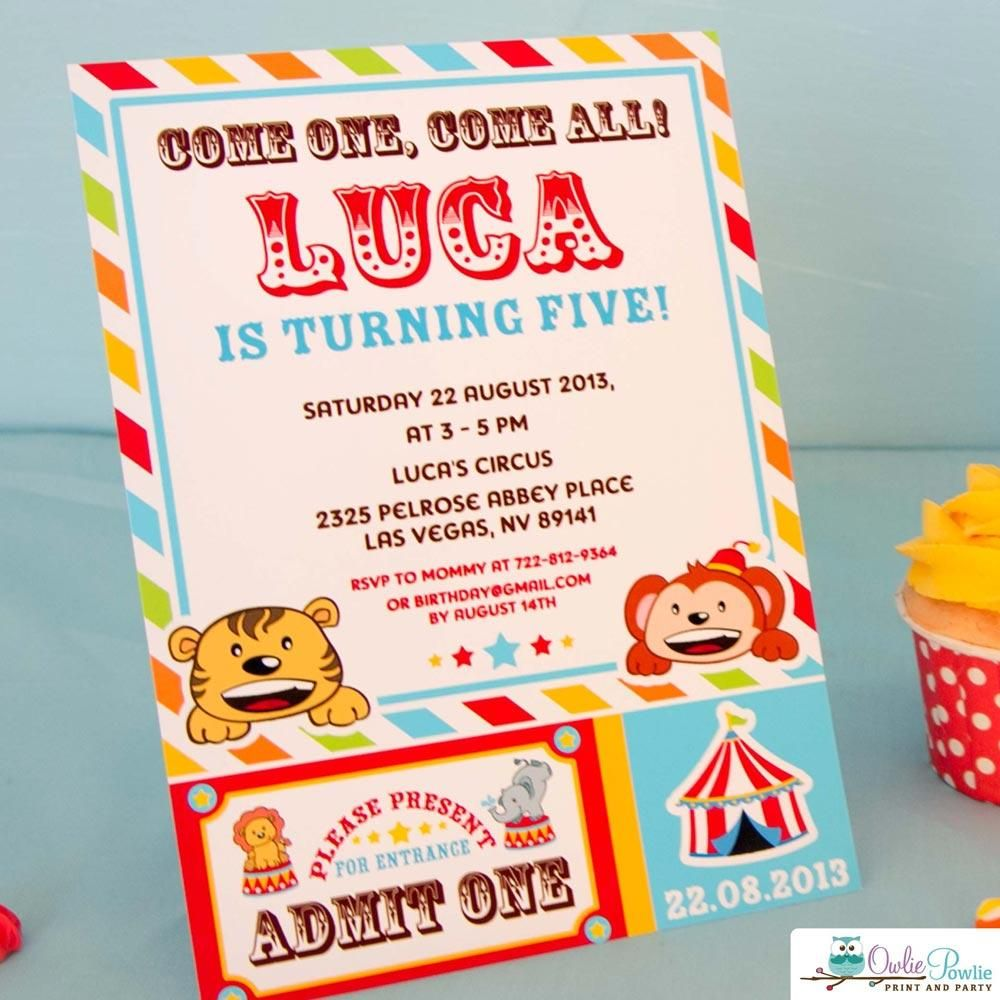 vintage circus birthday party package in 2018 circus birthday