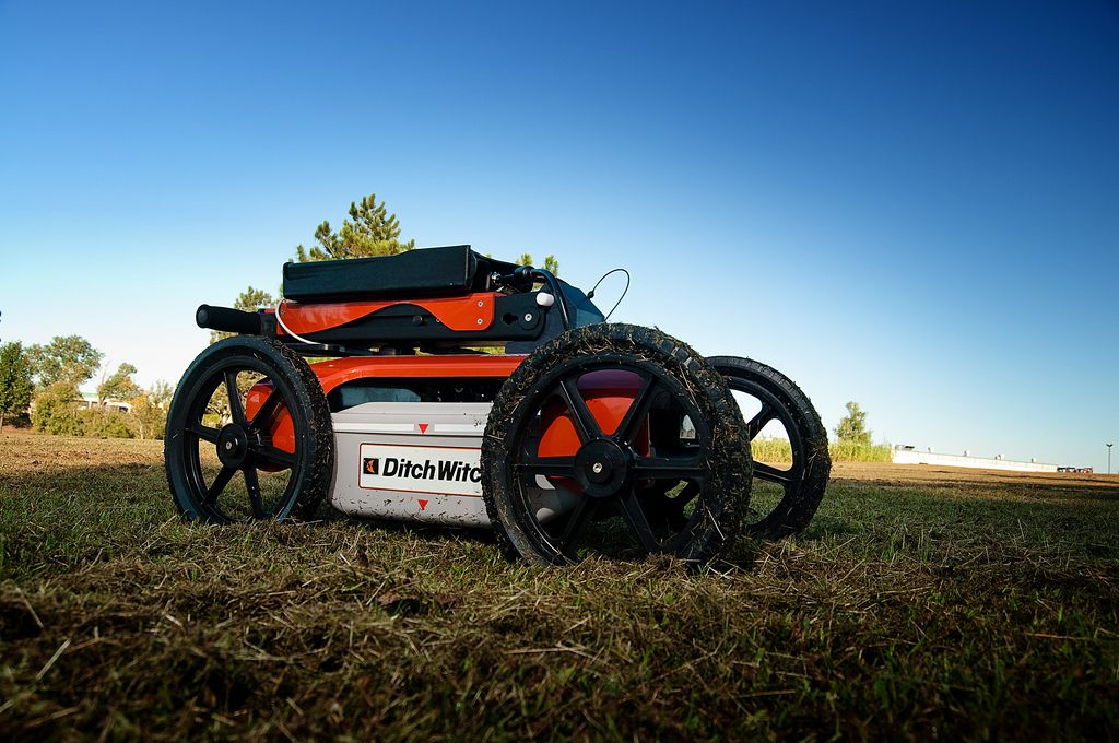 The Ditch Witch 2450GR Ground Penetrating Radar System