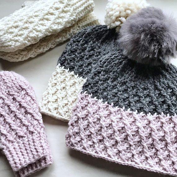 CROCHET PATTERN, The Stevie Crochet Beanie Pattern, Crochet Hat ...