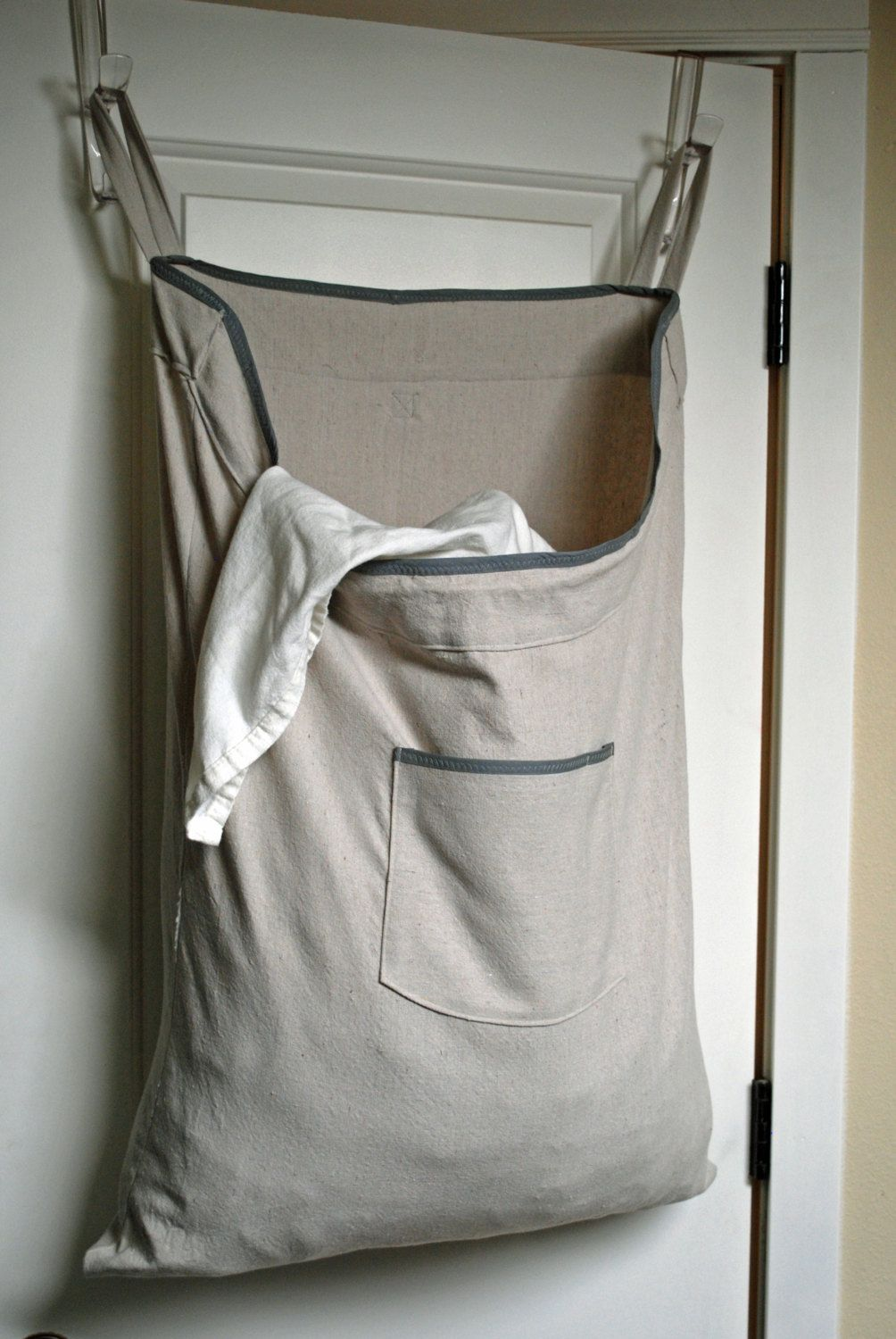White Hanging Laundry Bag Hanging Laundry Bag Will Be Very