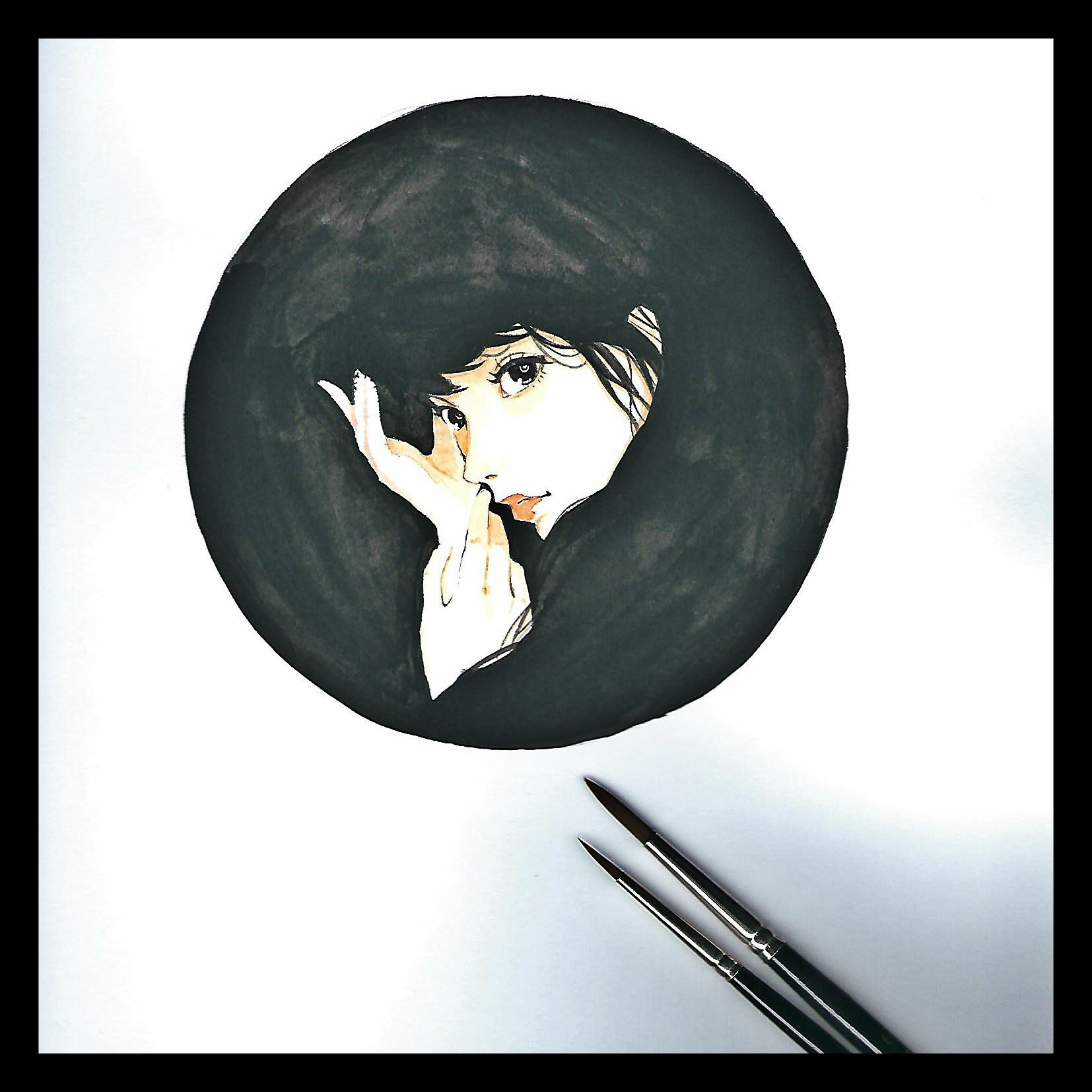 Dibujos Con Fondo Negro