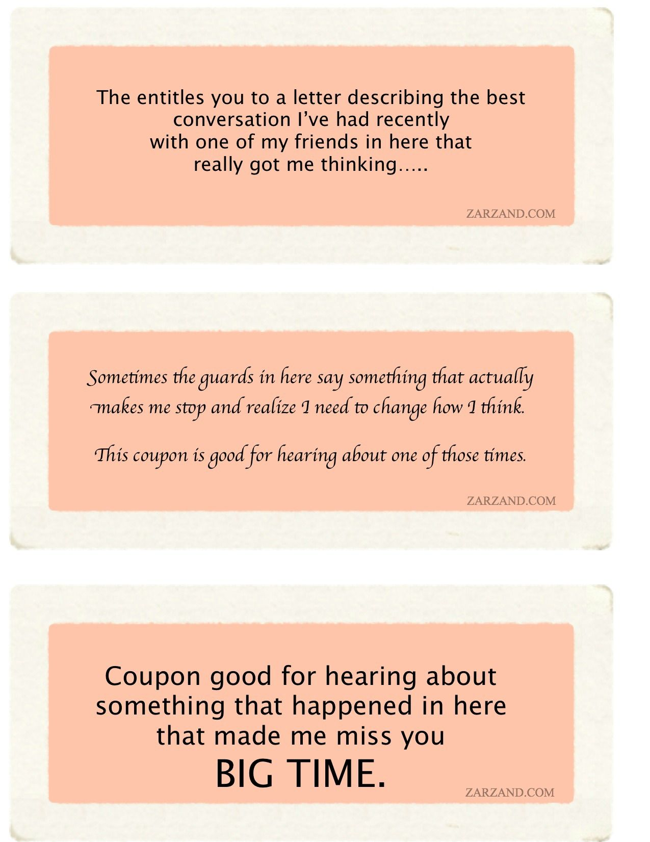 Romantic Coupons Emotional Support Couples Love Free Romance