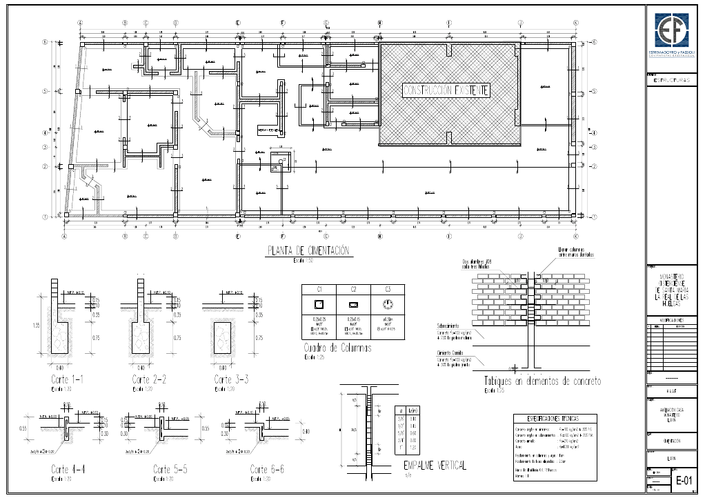 Planos arquitectonicos sena estructurales planos for Planos tecnicos arquitectonicos