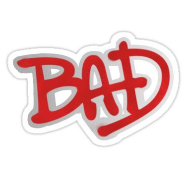 Bad Michael Jackson Sticker Bad Michael Michael Jackson Tattoo Michael Jackson