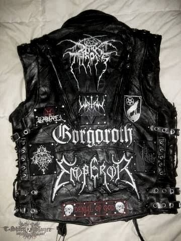 Black Metal Leather Battle Vest  a96b890efde78