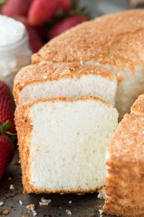 100 homemade angel food cake this is the recipe that everyone will 100 homemade angel food cake this is the recipe that everyone will ask you for this recipe shows you how to use all purpose flour instead of cake flour forumfinder Gallery