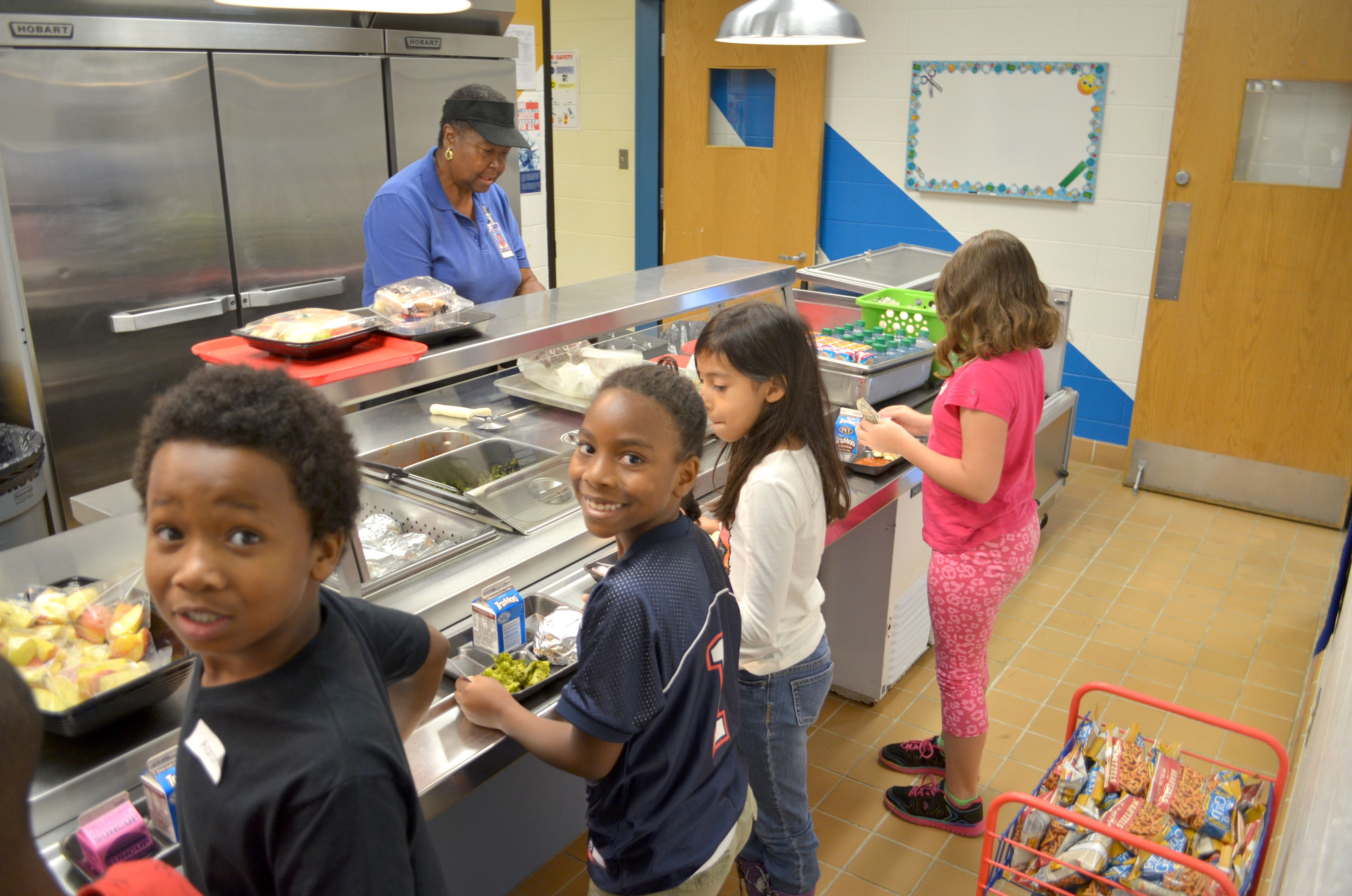 first day of school at Ecoff Elementary School photos