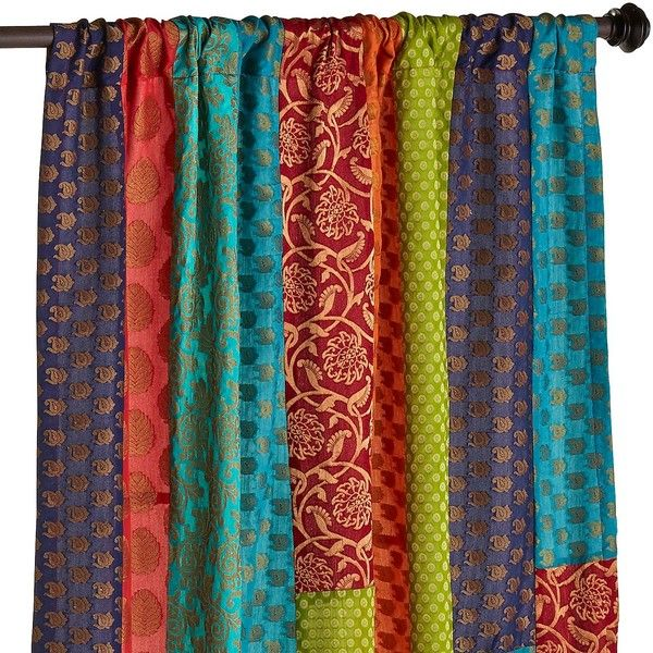 Pier 1 Imports Sari Patchwork 96 Quot Curtain 75 Liked On