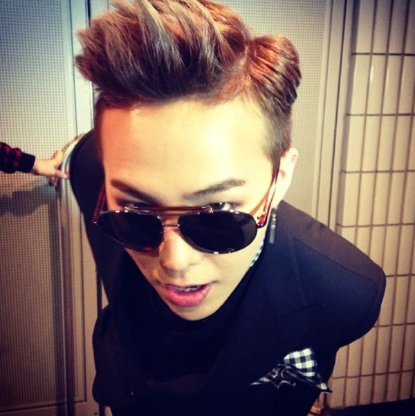 G-Dragon's Instagram and Twitter Updates (140218) : a big head picture