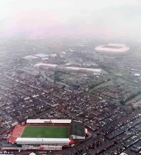 Vintage Stadium Lights: Roker Park And Stadium Of Light #SAFC