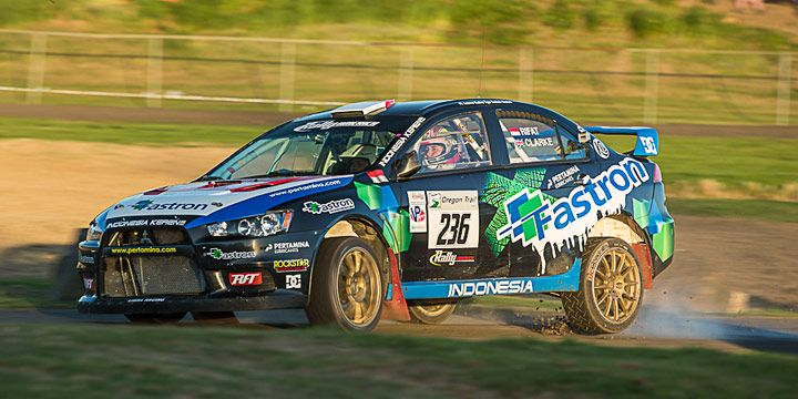 Rifat Sungkar Siap Balap Di Rally America 2013 Seri 5 Mobil