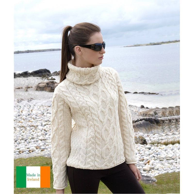 prix compétitif 63d25 1dcd3 Pull 100% laine merinos femme | Lafermemaillard