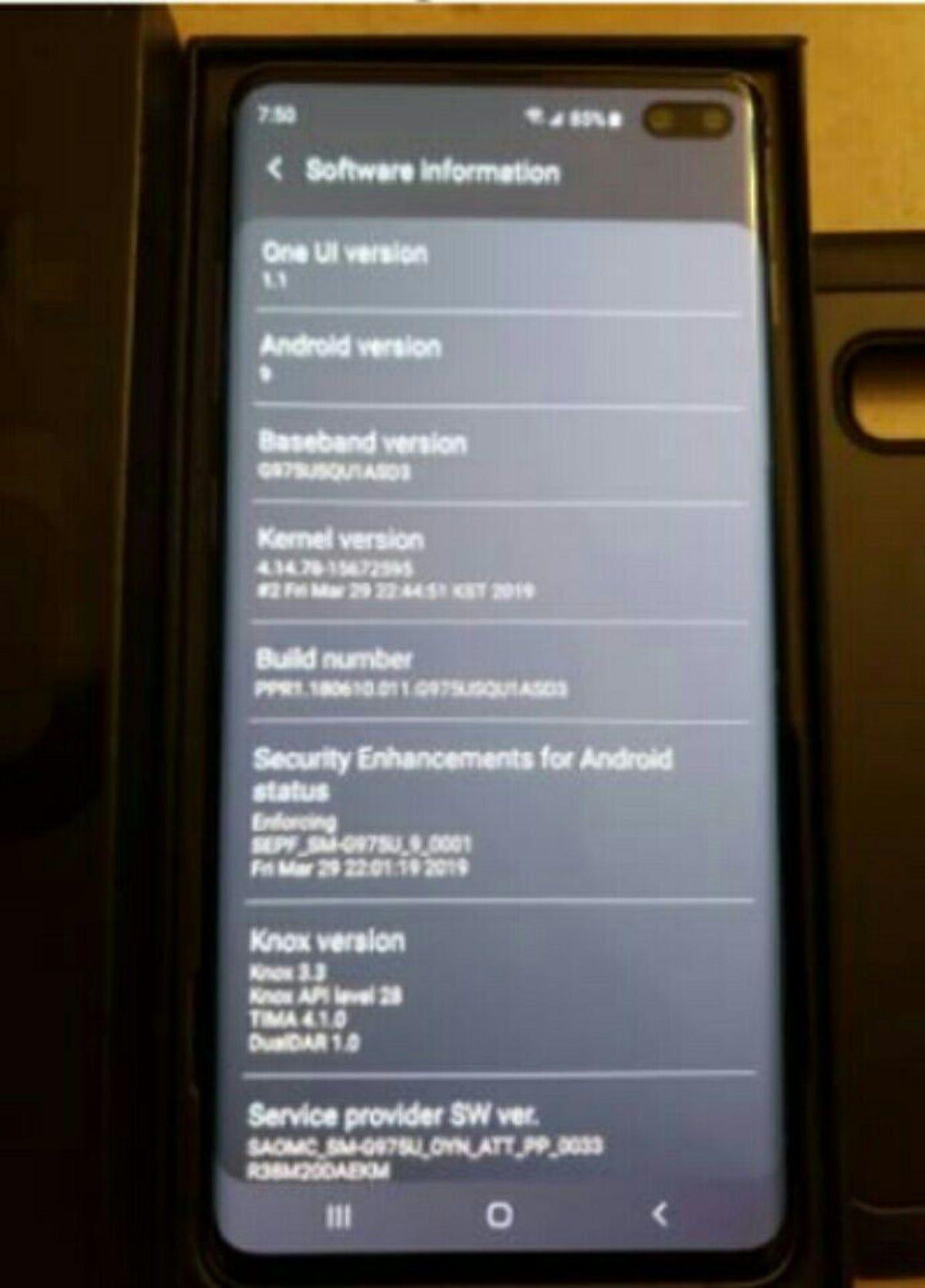 Samsung s10 plus on Mercari