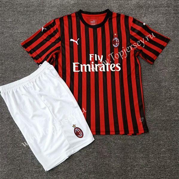 58f73da6f3d 2019-2020 AC Milan Home Red Black Soccer Uniform | 03.07 new listing