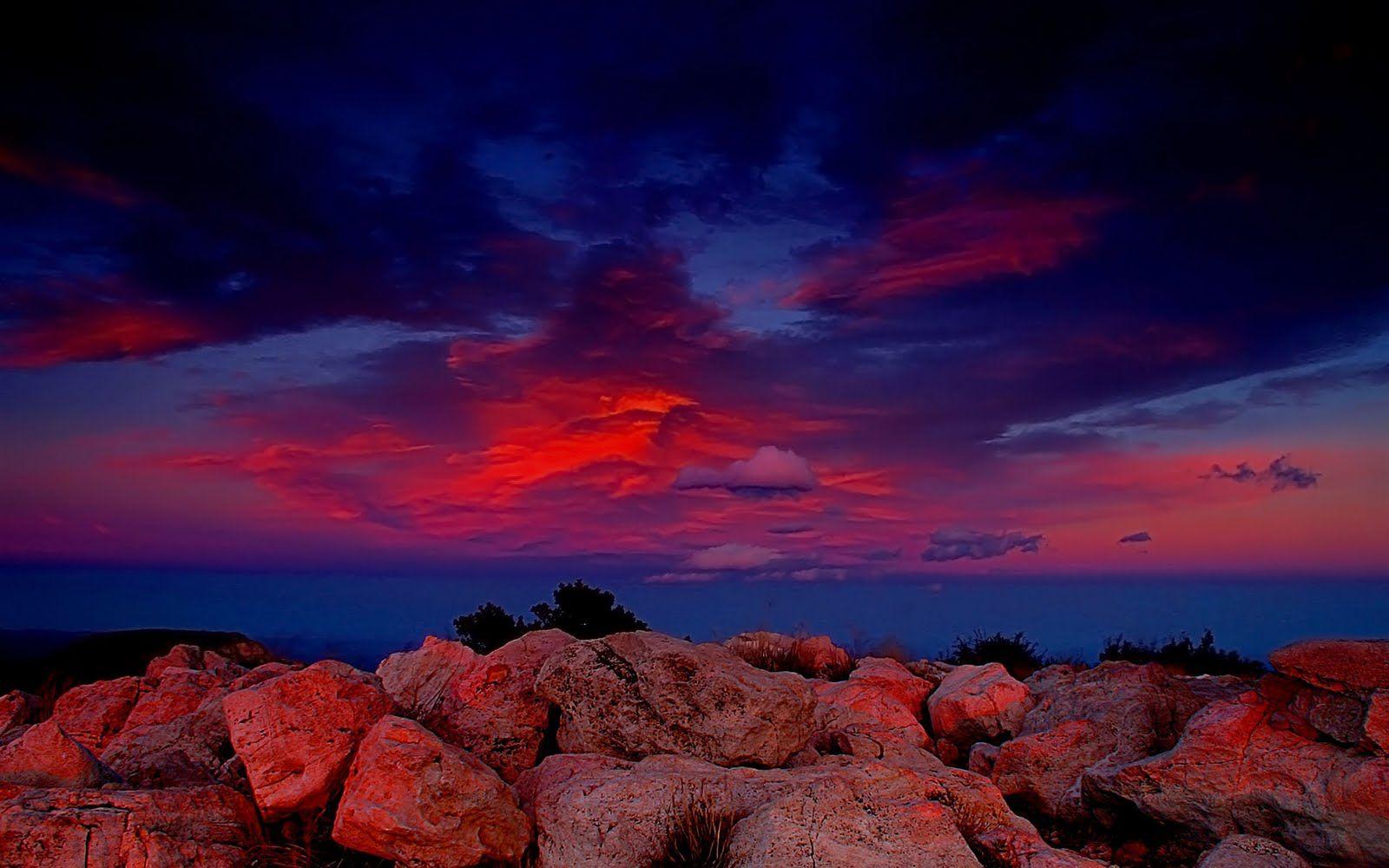 as melhores fotos do ceu   Imagem de Fundo - Céu em tons ...