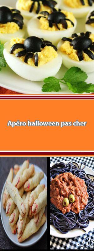Recettes Halloween faciles pour épater les enfants La Fête d'Halloween approche et pour effrayer vos amis avec des recettes originales et effrayantes, cette page regroupe quelques idées rapides et faciles à faire à déguster à l'apéritif. #gateauhalloweenfacile
