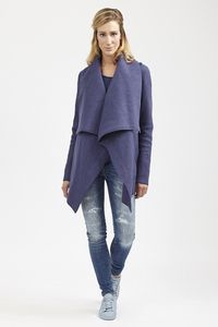 Jacket Augusta - Bilberry - LangerChen