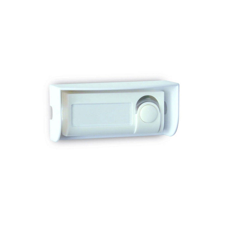 Bouton De Sonnette Filaire Evology 000302 Blanc Products