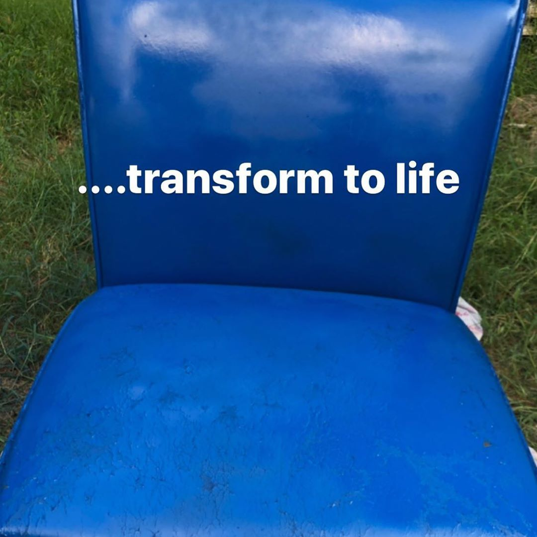 Dont get rid of the old boring furnituregive it life