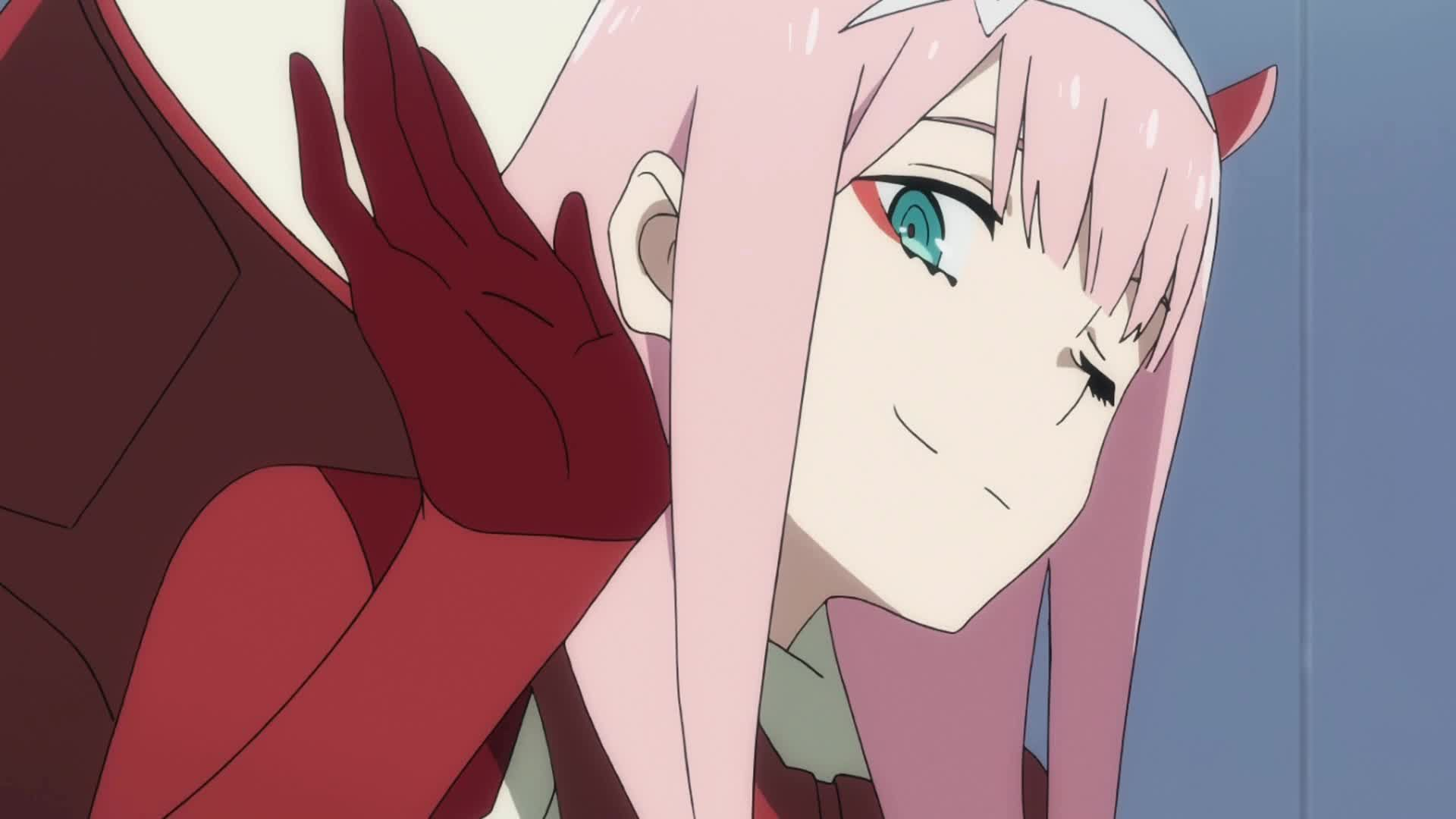 Zero Two Wallpaper Pesquisa Google Anime Smile Darling In The Franxx Anime