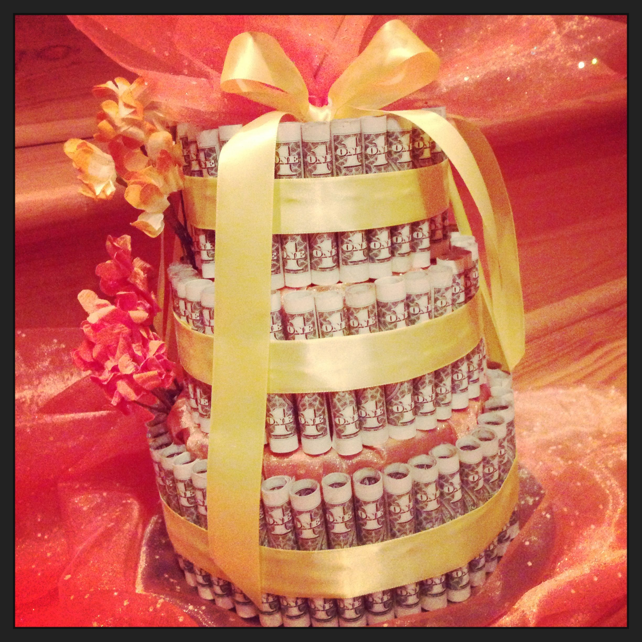 Great Idea For A #wedding #shower #gift. $100 In $1 Dollar