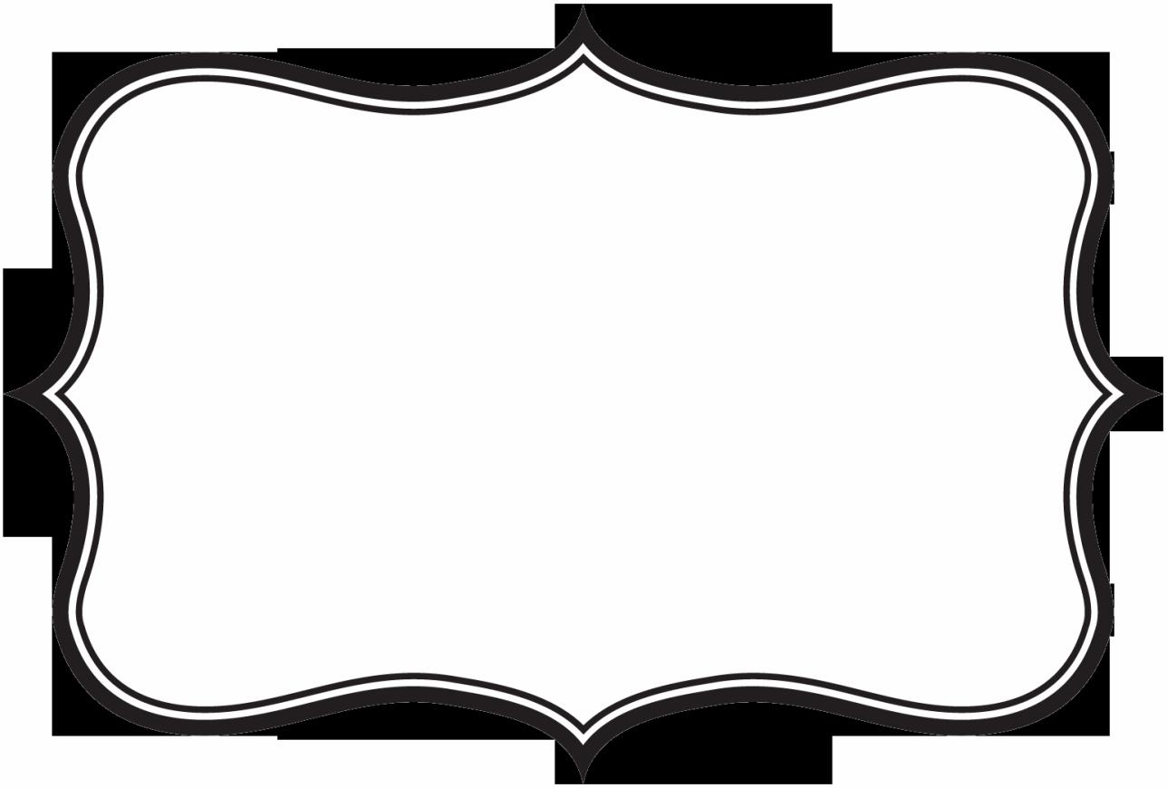 Label Border Clipart