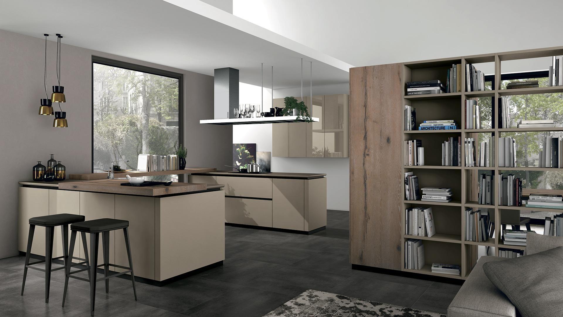 Oltre \'Bark oak\' kitchen | Oltre kitchen | Pinterest | Kitchens