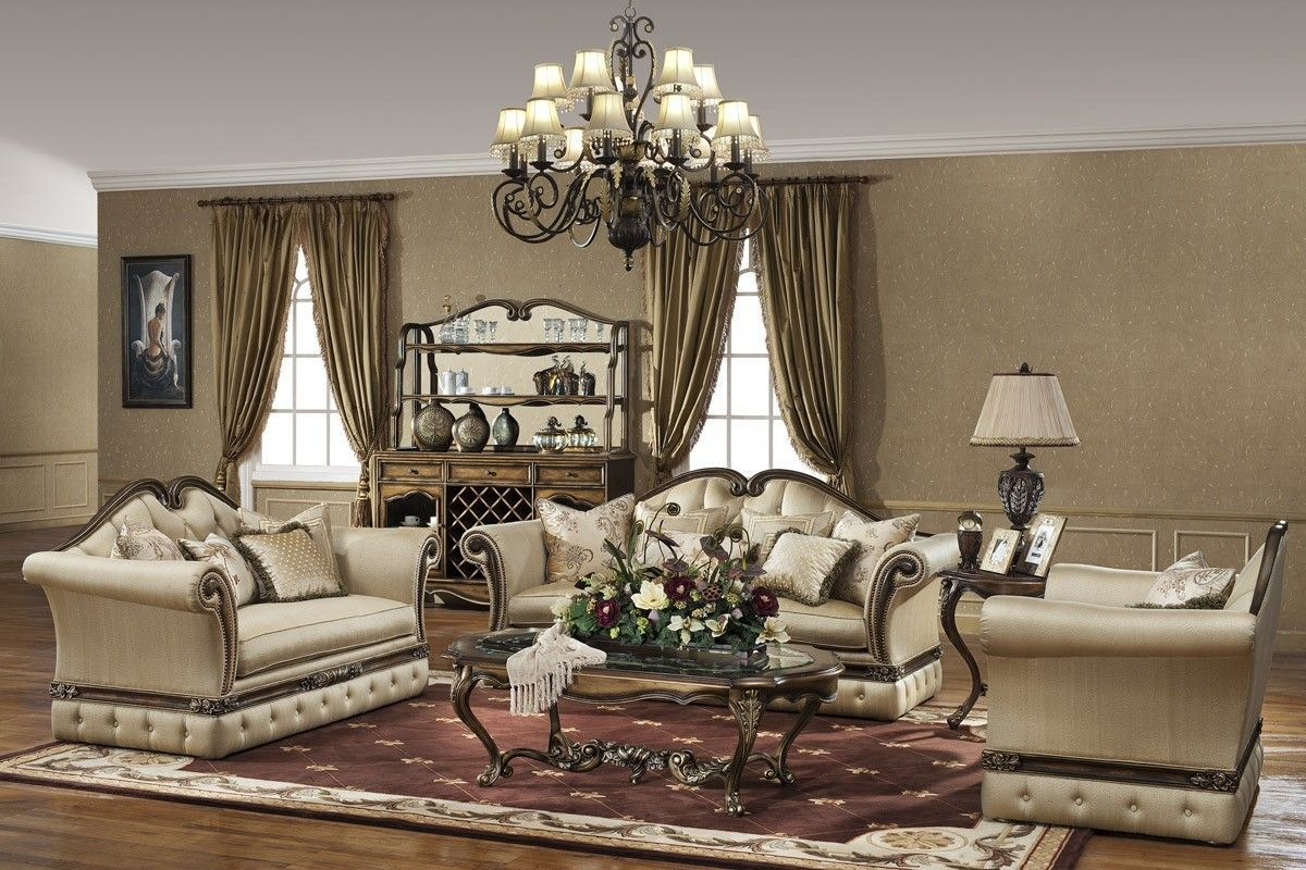 The Via De Leonaille Formal Living Room Collection 12464 Victorian Living Room Modern Bedroom Decor Luxury Living Room