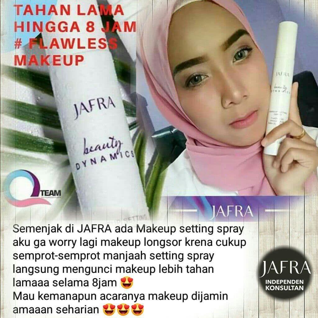 Make Up Luntur Jangan Takut Lagi Karena Ada Setting Spray Dari Jafra Bikin Make Up Mu Tahan Lama Dan Flawless Semprotan Kulit Wajah