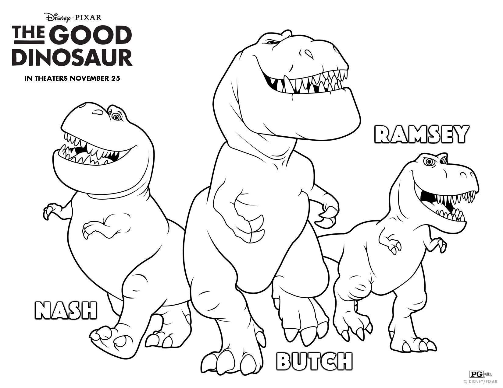 Disney Pixar The Good Dinosaur Free Activity Pages Dinosaur Coloring Pages Dinosaur Coloring The Good Dinosaur