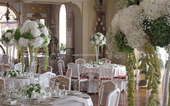 Matrimonio Country Chic Cira Lombardo : Centrotavola imponenti pinterest verde