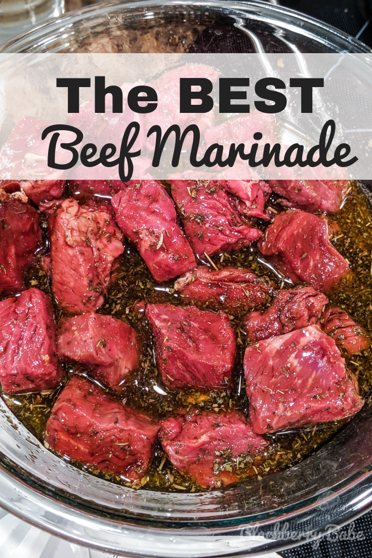 Marinated Beef Kabobs + Awesome Beef Marinade Recipe