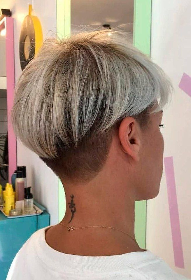 short blonde hair round face over 40