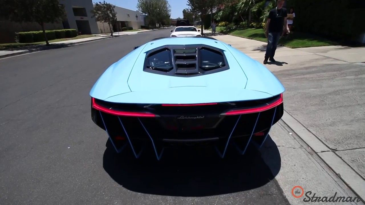 Supercars 2 3m Lamborghini Centenario Pulled Over By Beverly Hills