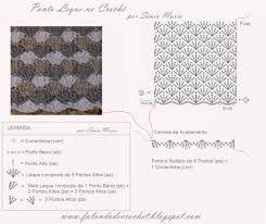 Resultado de imagem para só graficos de cortinas de croche