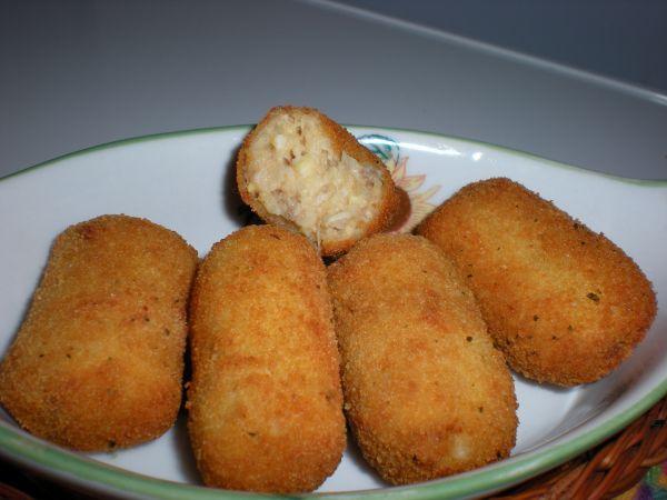Croquetas De Puchero Thermomix Tm 31 Entrantes Recetas Para Cocinar Croquetas Comida
