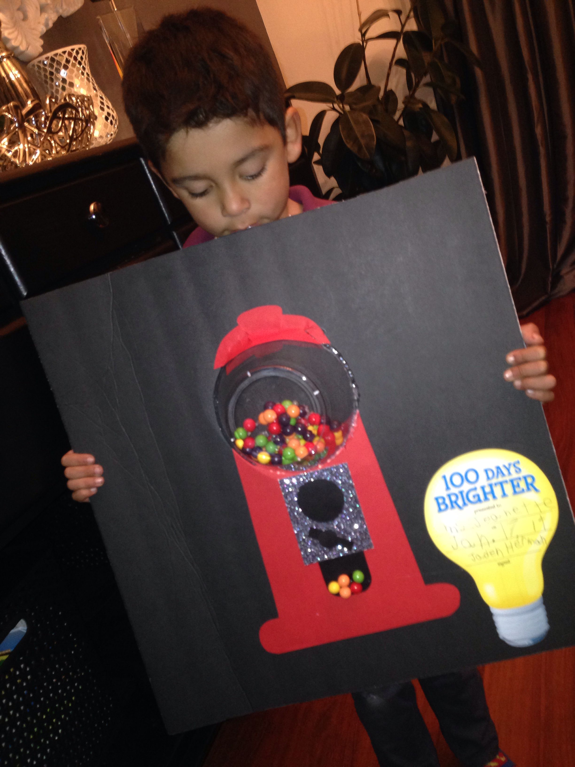 Project 100 Days Of School Gumball Machine