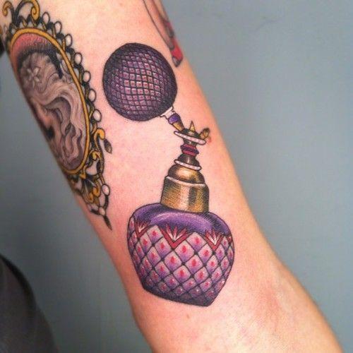 Small Bottle Tattoo: Tumblr. I Love The Idea Of A Perfume Bottle