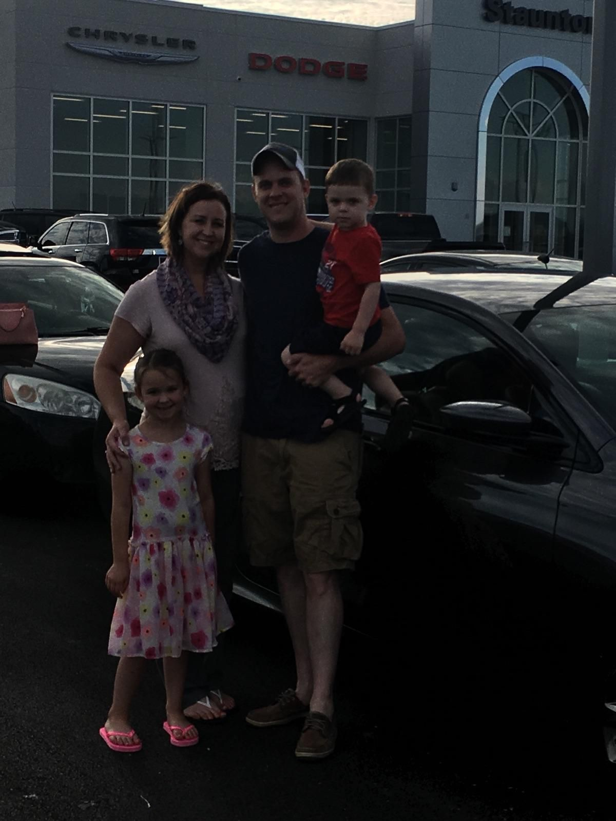Darren and Charla  with their new 2016 Chrysler 200 S.  We appreciate your business and love to SEE You Happy!