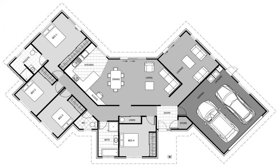 Ilima Signature Homes House Plans Australia Modern Style House Plans Duplex Floor Plans
