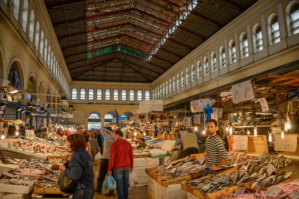 Athens Central Market A Walk Through The Meat And Fish Agora