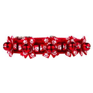Top Paw Pet Holiday Jingle Bell Buckle Dog Collar Collars Petsmart Holiday Dog Collar Pet Holiday Dog Holiday