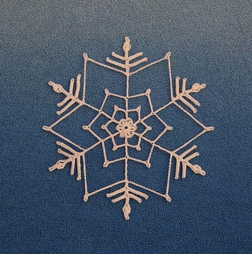 Ravelry: Maggie's Snowflake 2 pattern by Margaret Kiprenko