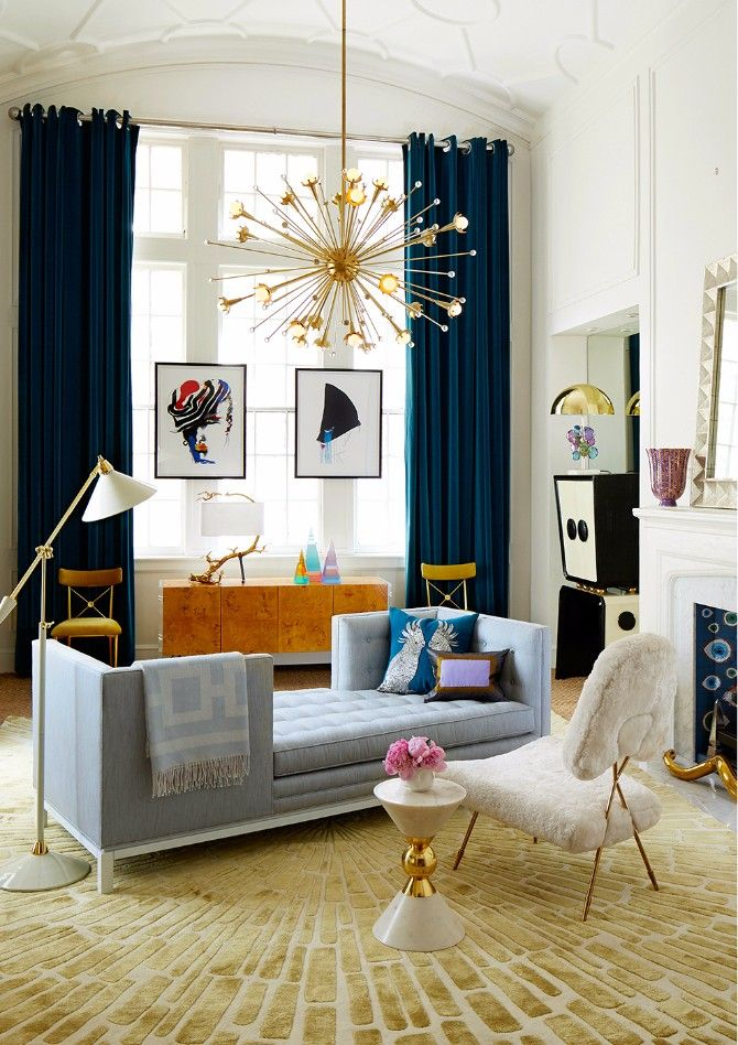 9 Tips On How To Style Modern Rugs Like Jonathan Adler Contemporary Living