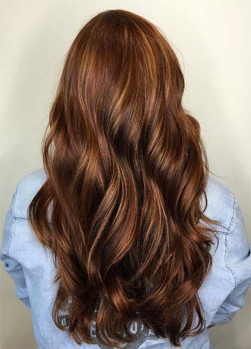 100 Dark Hair Colors Black Brown Red Dark Blonde Shades Deep