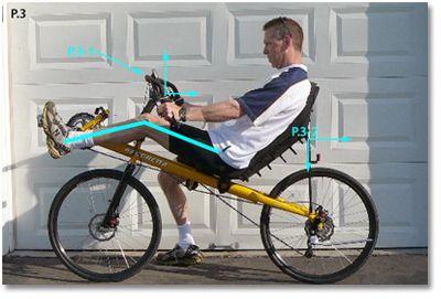 Proper Fitting For Recumbents Bacchetta Bike Sizing Recumbent